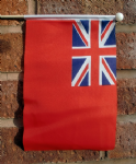 BRITISH RED ENSIGN (UNITED KINGDOM ) - HAND WAVING FLAG (MEDIUM)